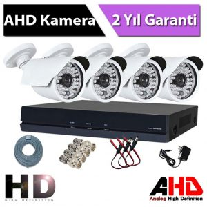 4 kameralı set