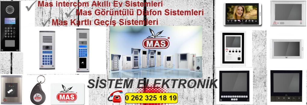 MAS Kocaeli Görüntülü Diafon Sistemleri
