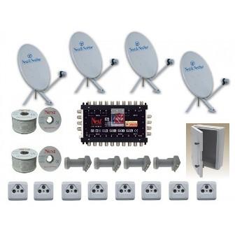 İzmit Merkezi Uydu Anten Santrali Kurulumu